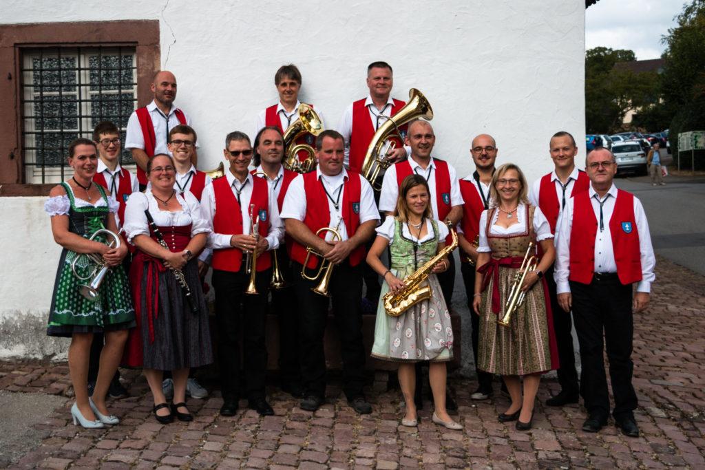 Gruppenbild des Orchesters